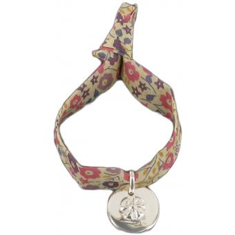 Bracelet liberty personnalisable noeud - Marie-Laure T