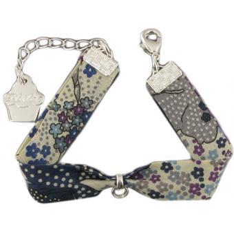 Bracelet liberty mauve - Philae