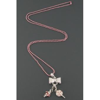 Chaîne boules rose  - Philae