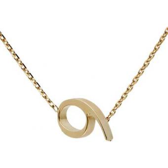 Collier Gold Number 9 or - Second Effect