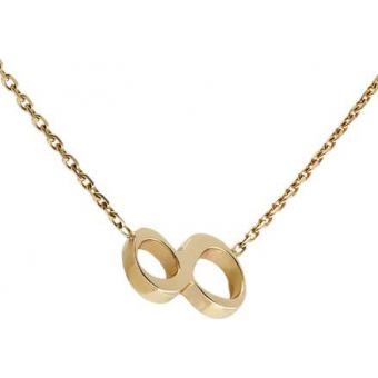 Collier Gold Number 8 or - Second Effect