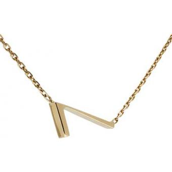 Collier Gold Number 7 or - Second Effect