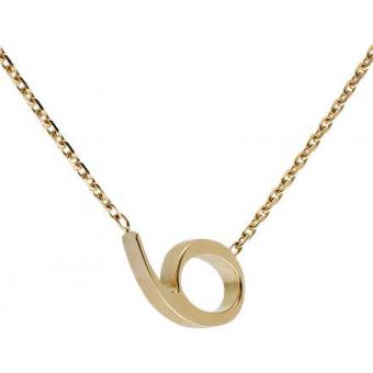 Collier Gold Number 6 or - Second Effect