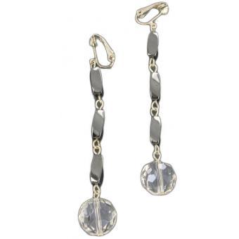 Boucles d'oreilles clips HOLLYWOOD NIGHT - Laure Devèze