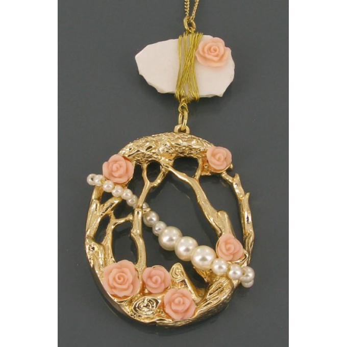 sautoir foret  mosaique bijoux les bijoux de sophie