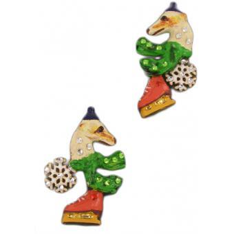 Boucles d'oreilles MECHAMMENT JOYEUX - N2