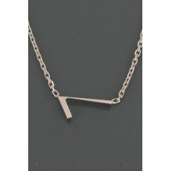 Collier Silver Number 7 argent - Second Effect