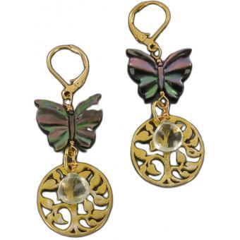 Boucles d'oreilles JARDIN D'EDEN - Laure Devèze