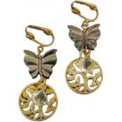 Boucles d'oreilles clips JARDIN D'EDEN - Laure Devèze - Laure Deveze