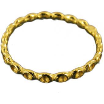 Simple Ring Vermeil - Corpus Christi