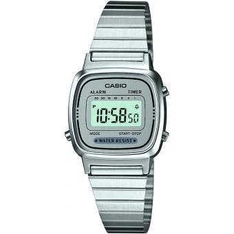 Montre Casio Acier Casio Collection LA670WEA-7EF - Femme