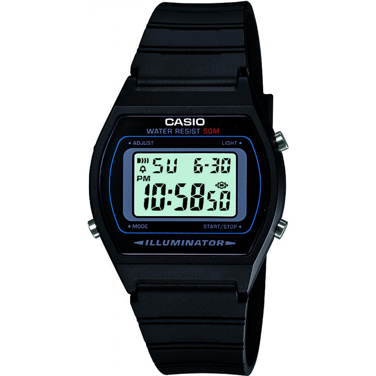 Montre Casio Résine Casio Collection W 202 1AVEF Homme sur  Xqn0X