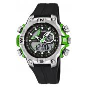 Montre Calypso Chronographe Digitale Noire K5586-3 - Montre