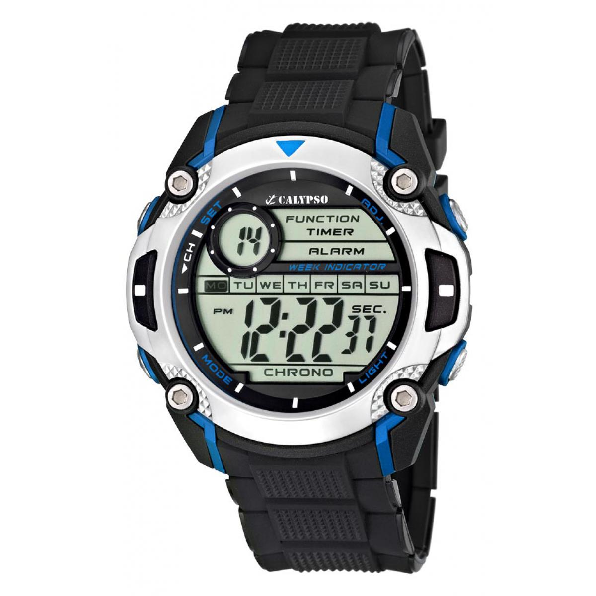 Montre Calypso Silicone Digital For Man K5577-2 - Homme
