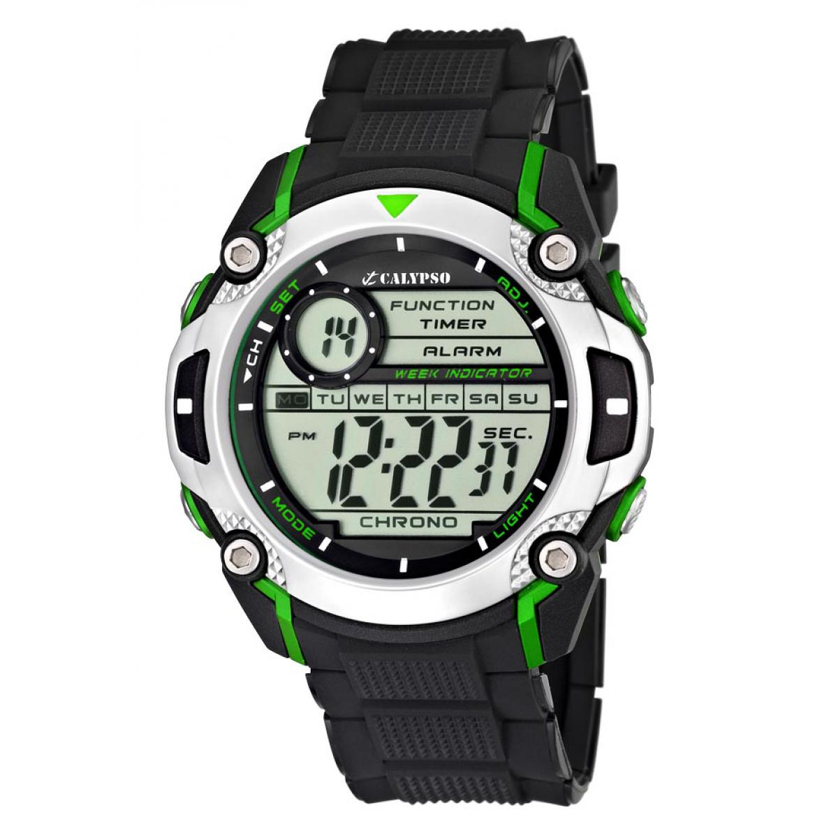 Montre Calypso Silicone Digital For Man K5577-3 - Homme