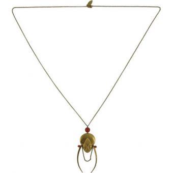 Sautoir Virginie Monroe K'Tusha Bronze - Virginie Monroe