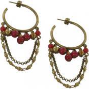 Boucles d'oreilles Virginie Monroe Mira Bai Bronze - Virginie Monroe