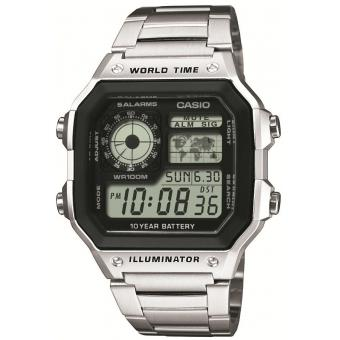 Montre Casio Acier Casio Collection AE-1200WHD-1AVEF - Homme