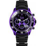 Montre Ice Watch Chronographe Noire CH.KPE.BB.S.12