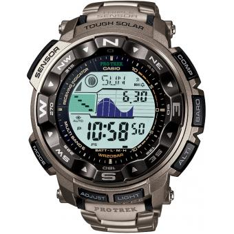 Casio - Montre Casio Sport Pro Trek PRW-2500T-7ER - Montre altimetre casio