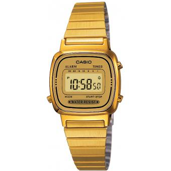 Montre Casio Acier Casio Collection LA670WEGA-9EF - Femme