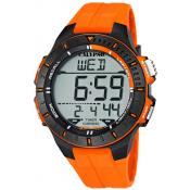 Montre Calypso Chrono Digitale Orange K5607-1