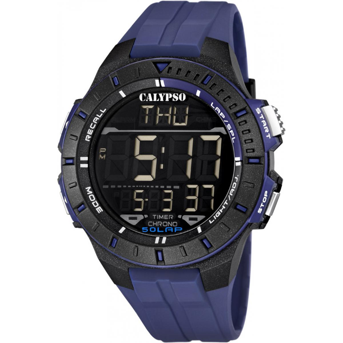 Montre Calypso Silicone Digital For Man K5607-2 - Homme
