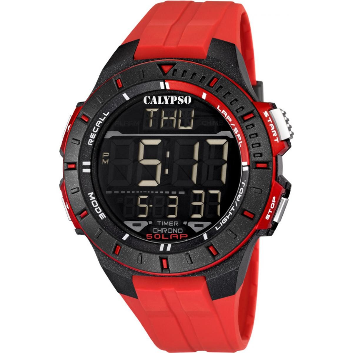 Montre Calypso Silicone Digital For Man K5607-5 - Homme