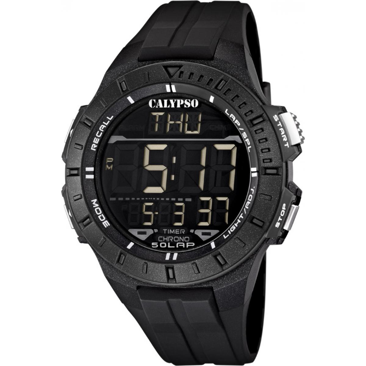 Montre Calypso Silicone Digital For Man K5607-6 - Homme