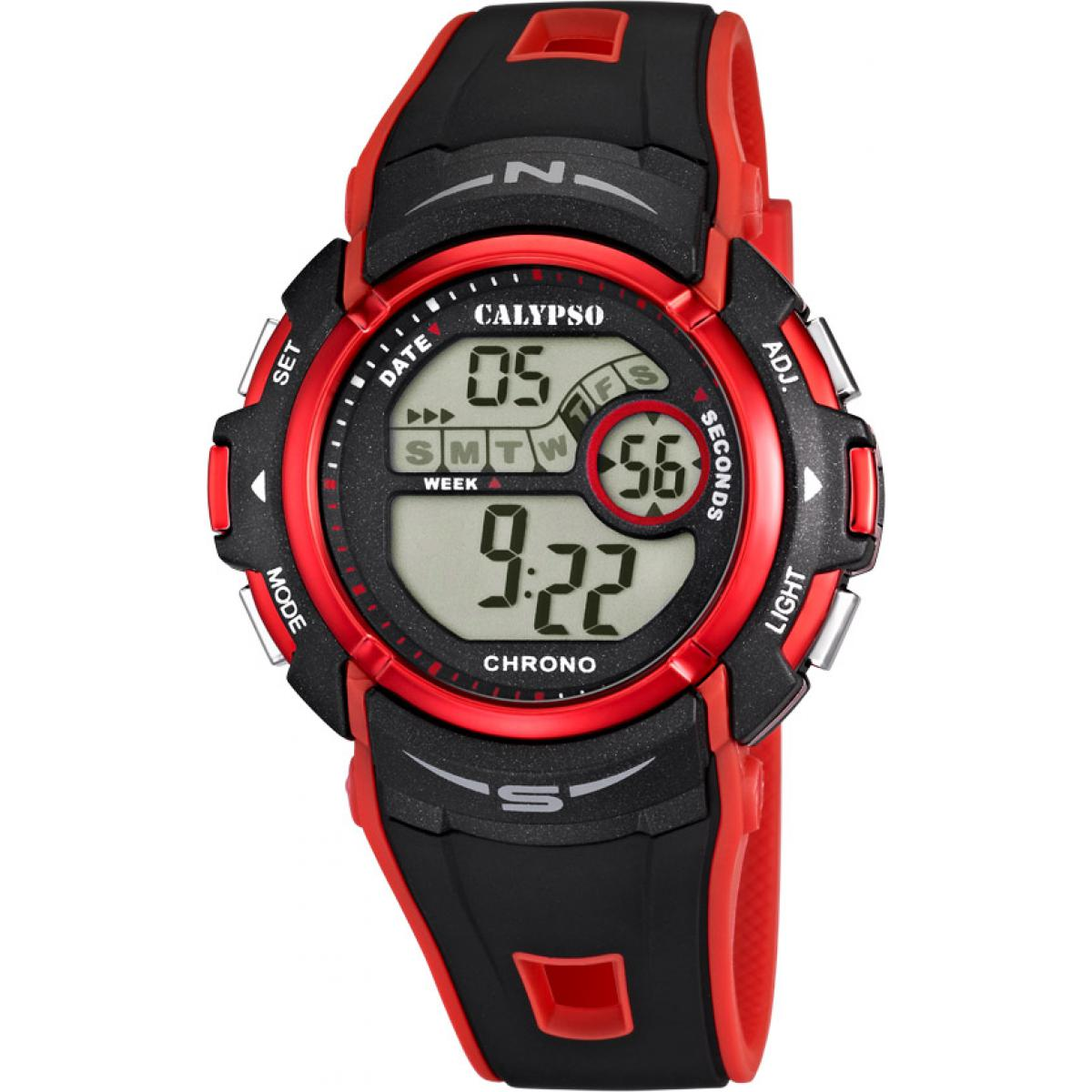 Montre Calypso Silicone Digital For Man K5610-5 - Garçon