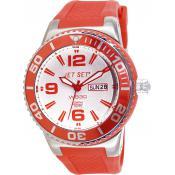 Montre Jet Set Dateur Rouge J55454-05 - Rouge