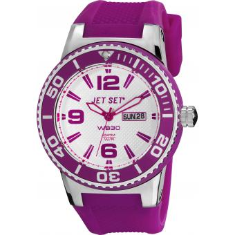 Montre Jet Set Silicone J55454-160 - Mixte