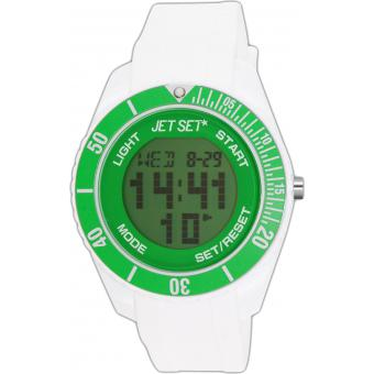 Montre Jet Set Silicone J93491-18 - Mixte