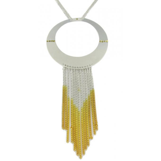 Bijoux Fantaisie Satellite : Collier satellite tie dye bijoux winaretta