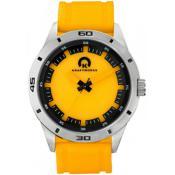 Montre Kraftworxs Montres Orange Acier Lumineuse KW-N-100
