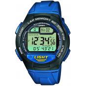 Montre Casio Alarme Chrono Digitale W-734-2AVEF - Casio