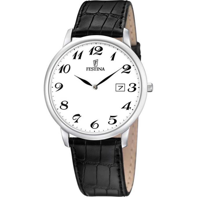 montre festina classique f6806 5 montre noir blanc homme sur bijourama montre homme pas. Black Bedroom Furniture Sets. Home Design Ideas