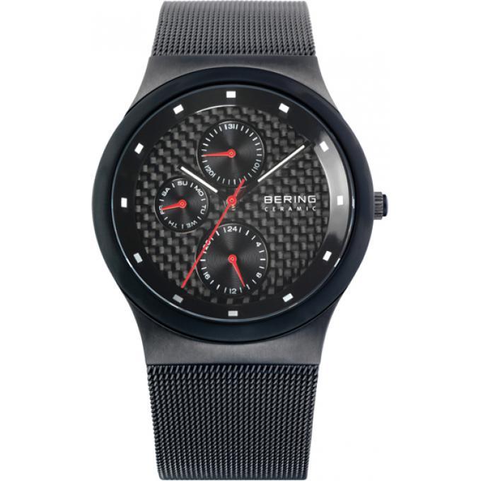 montre bering c ramique 32139 309 montre extra plate noir homme sur bijourama montre homme. Black Bedroom Furniture Sets. Home Design Ideas