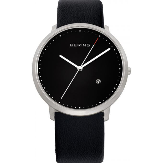 montre bering classique 11139 402 montre extra plate cuir homme sur bijourama montre homme. Black Bedroom Furniture Sets. Home Design Ideas