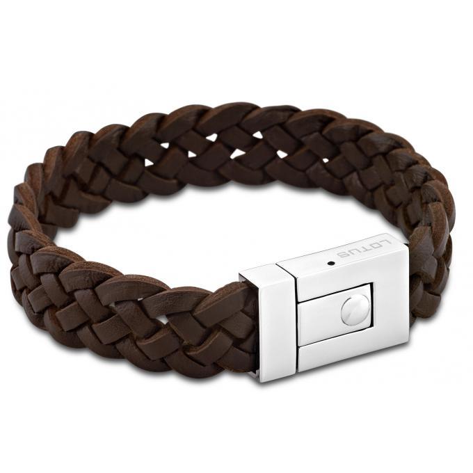 bracelet lotus style bijoux ls1379 2 1 bracelet cuir marron homme sur bijourama votre. Black Bedroom Furniture Sets. Home Design Ideas