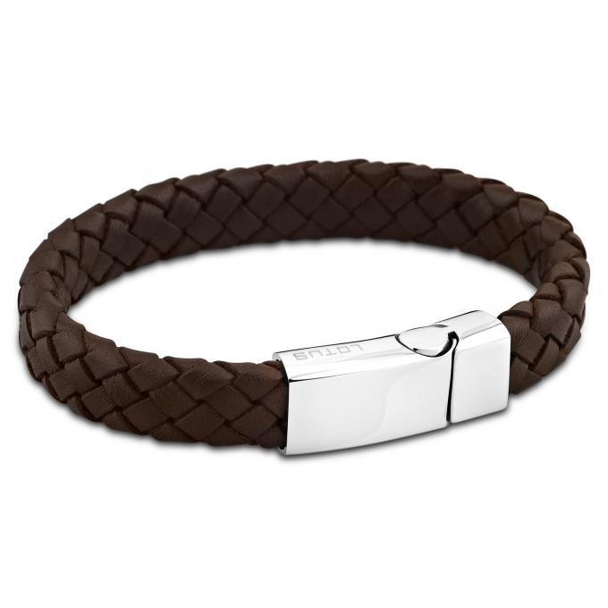 bracelet lotus style ls1380 2 1 bracelet cuir marron homme sur bijourama r f rence des bijoux. Black Bedroom Furniture Sets. Home Design Ideas