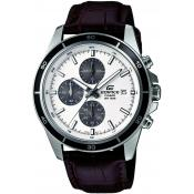 Casio - Montre Casio EDIFICE EFR-526L-7AVUEF - Montre Homme Cuir