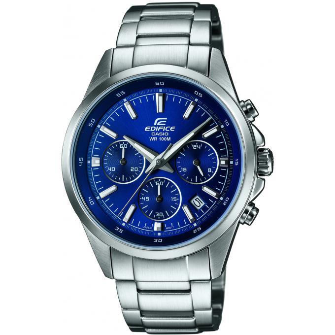 Montre Casio EDIFICE EFR-527D-2AVUEF - Montre Acier bleue Homme sur ... b0d2441c0a6f
