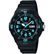 Casio - Montre Casio Collection MRW-200H-2BVEF - Montre Noire Homme