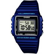 Montre Casio Collection W-215H-2AVEF - Montre Digitale Bleue Mixte