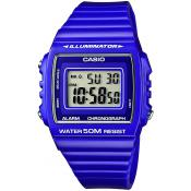 Montre Casio Digitale Bleue W-215H-6AVEF - Bleu