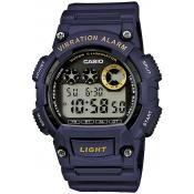 Casio - Montre Casio Collection W-735H-2AVEF - Montre Bleue Homme