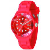 Montre Madison Candy Mini SL4167R - Montre Silicone Rouge Femme