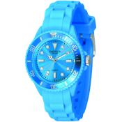 Montre Madison Candy Mini SL4167X - Montre Silicone Turquoise Femme