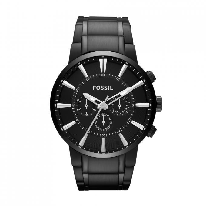montre fossil fs4778 montre chrono acier homme sur bijourama montre homme pas cher en ligne. Black Bedroom Furniture Sets. Home Design Ideas